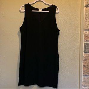 A New Day little black dress slits on each side XL